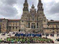 Route to Santiago de Compostela