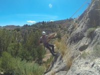 Pack of abseiling and climbing in Molinicos