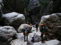 Barranquismo rocas