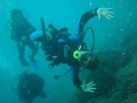 Piruetas submarinas