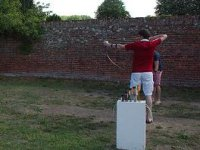 Initiation course to archery on the Catalan coast
