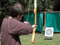 Aiming at the target