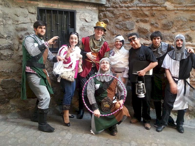 Una ruta teatralizada en el casco histórico de Toledo