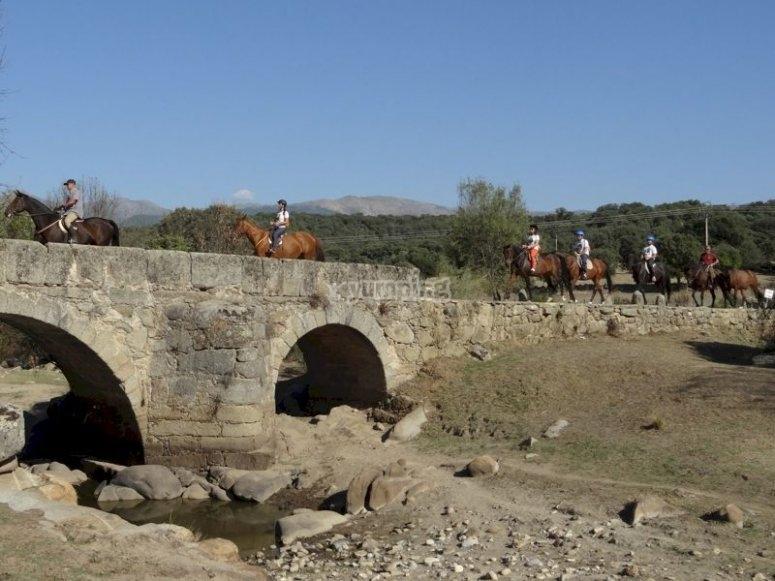 Montar a caballo en el Valle del Tiétar
