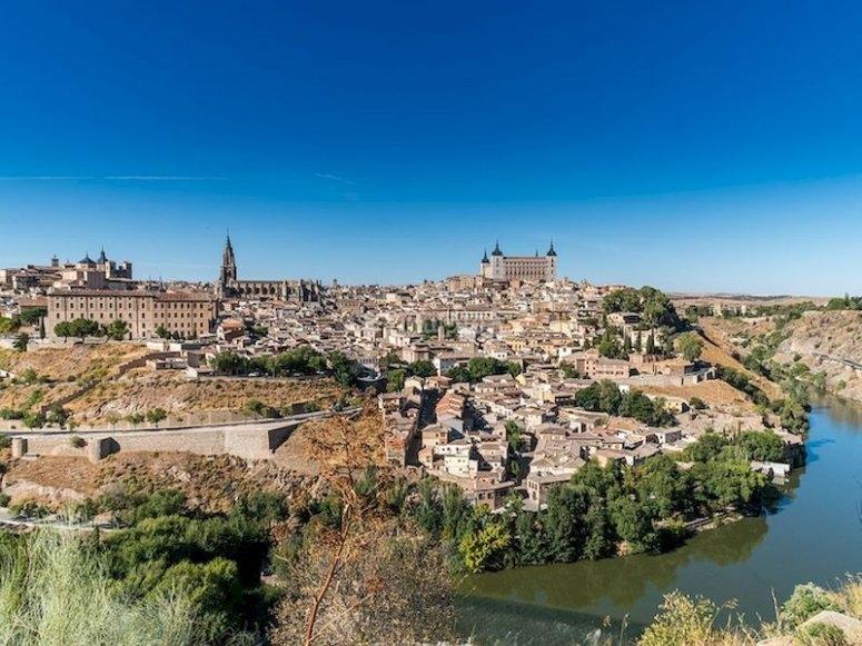 Sobrevolar Toledo en paramotor