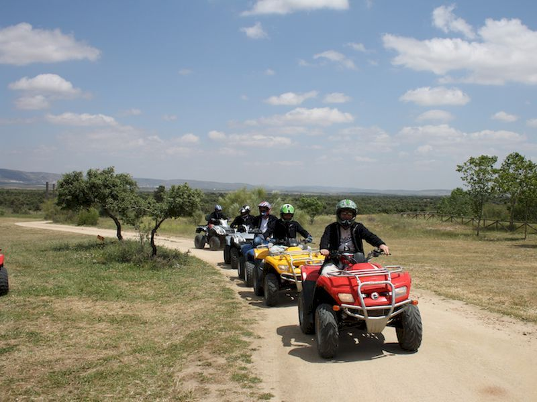 Conducir un quad por los Montes de Toledo