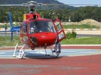 Un vuelo en helicoptero por la zona
