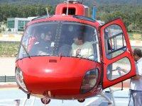 Un vuelo en helicoptero sobre el circuito