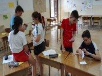 Actividades durante las clases de ingles