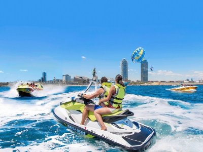 Jet ski rental from Port Olimpíc 1 hour