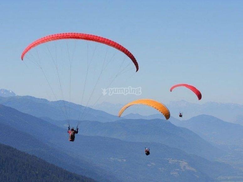 Haz un vuelo en parapente en Villar del Arzobispo