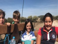 孩子们在穿越Paterna的路上度过了美好的时光