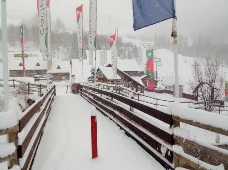 Ski station Ampriu