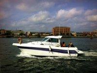 Agradable día navegando