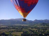 Volando en globo en La Rioja