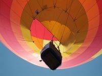 Despegando con el globo aeroestático