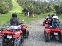 En ruta con los quads
