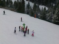 One-to-one skiing lesson