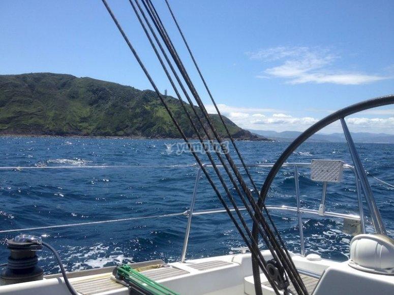 Paseo en barco por Matxitxako