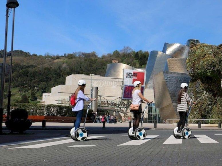 Tour segway por Bilbao