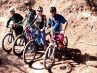 En ruta con las bicis de montaña