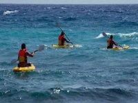 Guida il tuo kayak in bacini, fiumi, mari ...