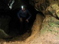 Pratica speleologia a Granada