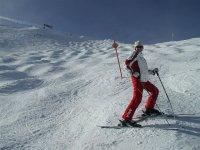 Sciare nella Sierra Nevada