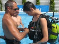 Training in confined waters