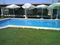La piscina de la finca de Tomelloso