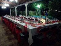 Mesa para cena en Tomelloso