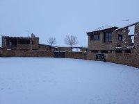 Finca de Tomelloso nevada