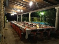 Celebracion de noche en Tomelloso