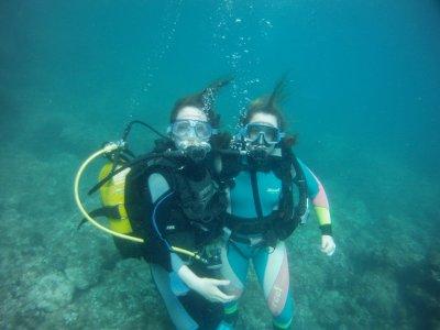 在Jávea用潜水装备5次潜水