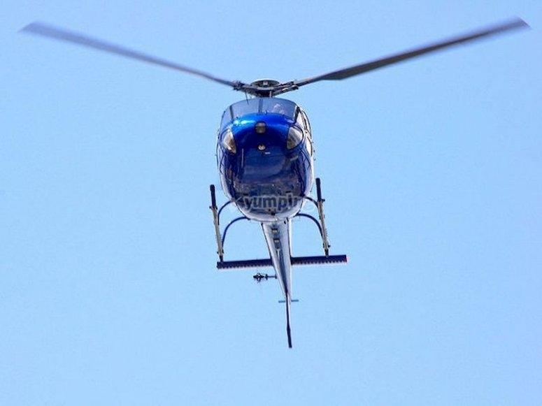Haz un vuelo en helicóptero desde Valldemosa