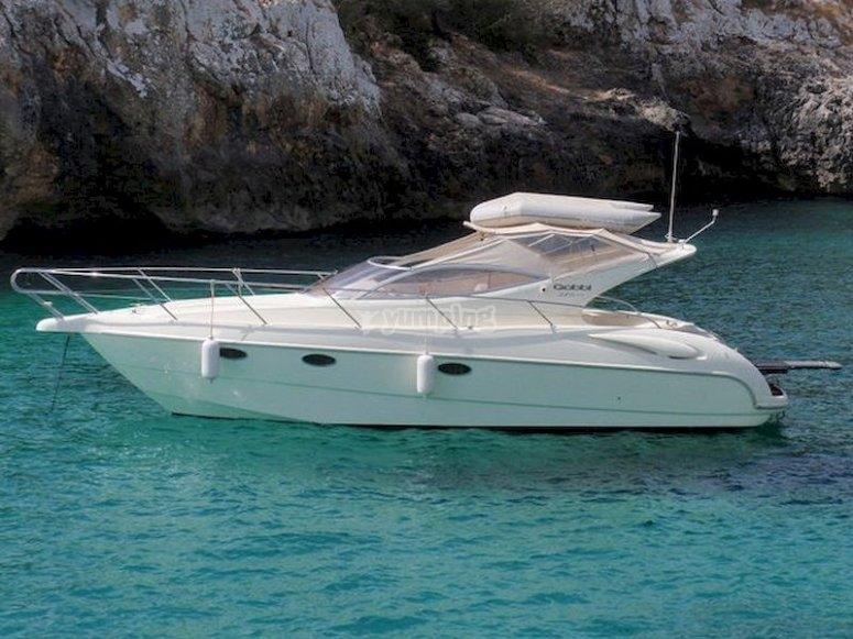 Navega en yate privado desde Porto Cristo