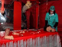 Halloween cirujano loco
