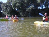 navega con nuestras canoas