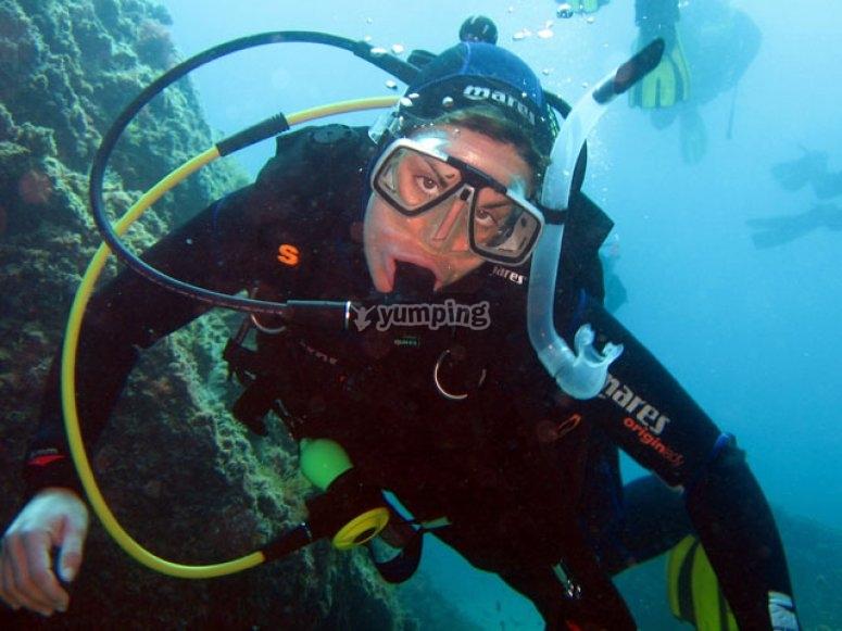 Expérience de plongée