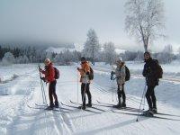 Esqui de Fondo en el Jura.