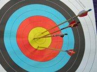 Practice archery in Malaga