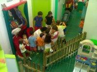 Actividades en el parque infantil