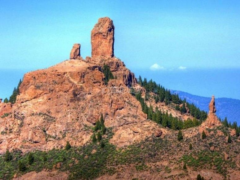 Visitar el Monumento Natural del Roque Nublo