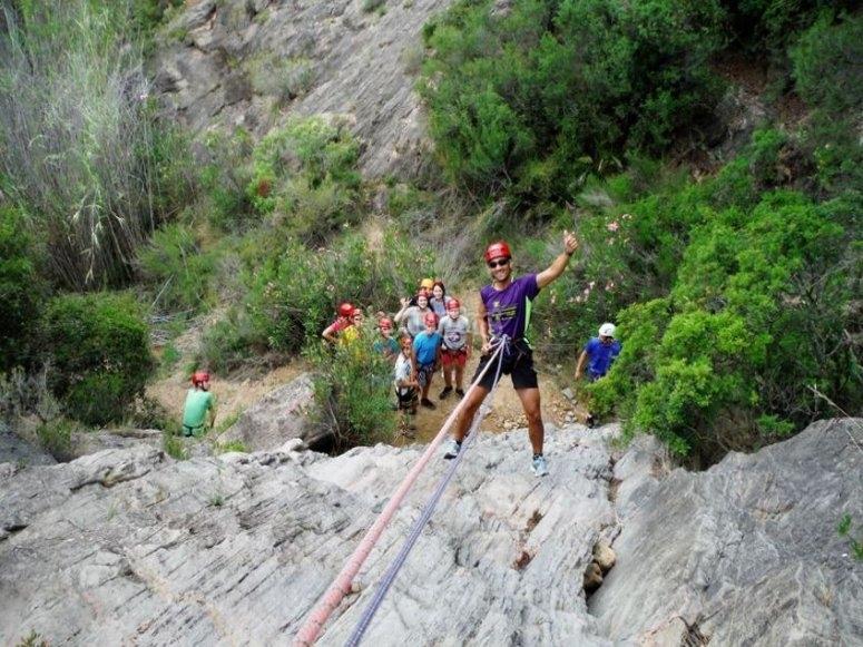 Dry canyon Lucena de cid