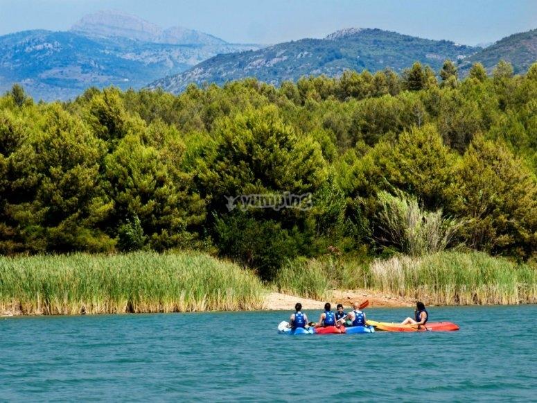 Kayak Guiado