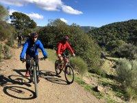 In bici attraverso la catena montuosa di Malaga