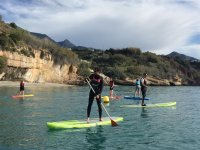 Iniciacion al paddle surf en Burriana