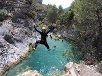Saltando al burrone di Malaga