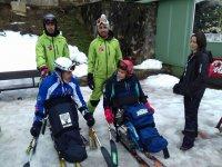 Sciare per persone con mobilità ridotta