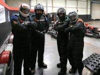 equipo de kart